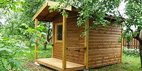 Garden sheds Summer houses